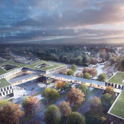 Neubau der Continental Hauptverwaltung in Hannover