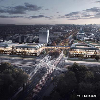 Neubau Continental Hauptverwaltung