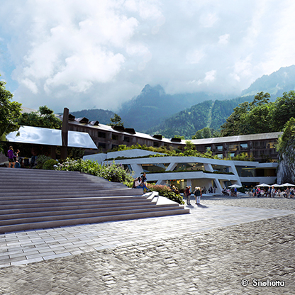 Neubau Resort Königssee, Berchtesgaden