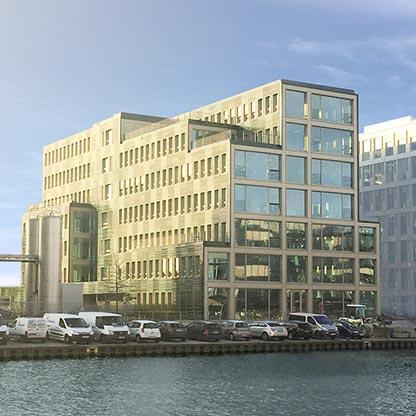 "Bürogebäude ""H7"" in Holz-Hybrid-Bauweise"