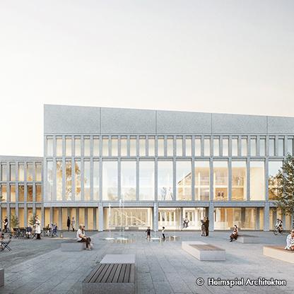 Neubau Stadthaus mit Parkhaus und Mobilitätshub, Lippstadt